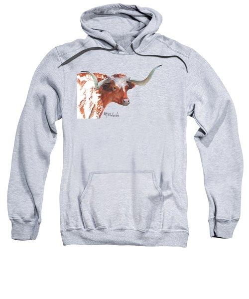 A Texas Longhorn Portrait Sweatshirt