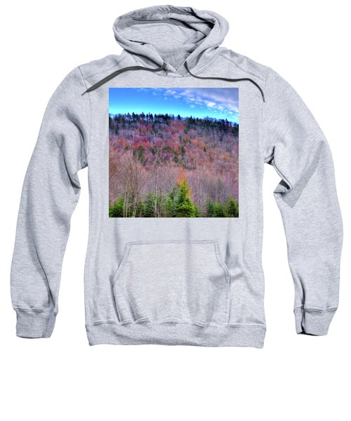 Sweatshirt featuring the photograph A Touch Of Autumn by David Patterson