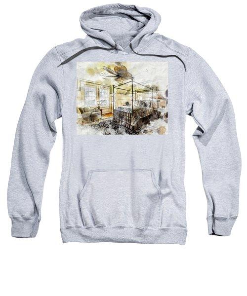 A Traditional Bedroom Sweatshirt