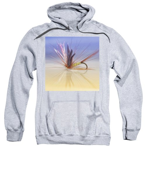 A Trout Fly (greenwell's Glory) Sweatshirt
