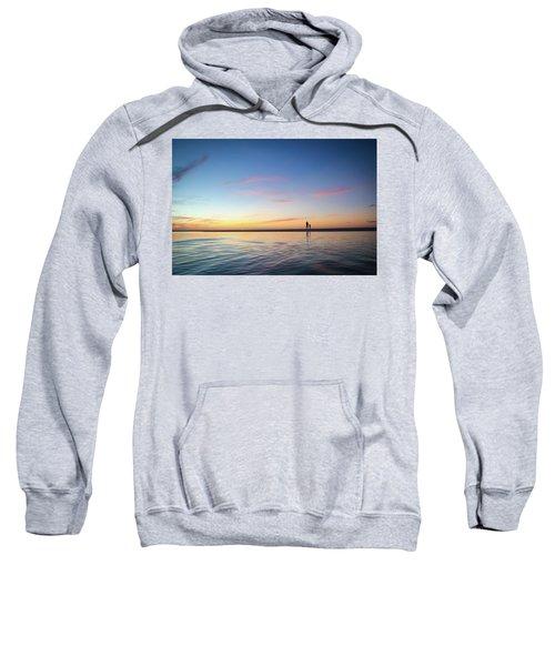 A Twilight Beach Walk Sweatshirt