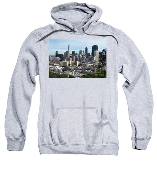 A View Of Downtown From Nob Hill Sweatshirt