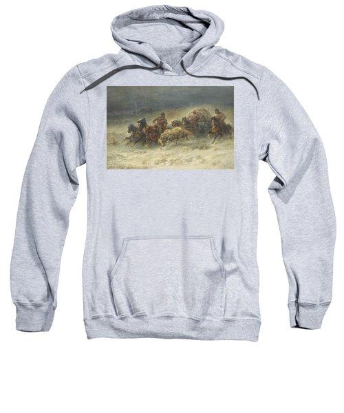 A Wallachian Wagon Under Attac Sweatshirt