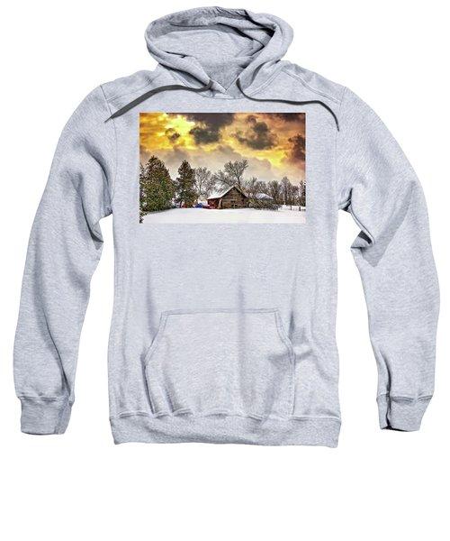 A Winter Sky Sweatshirt