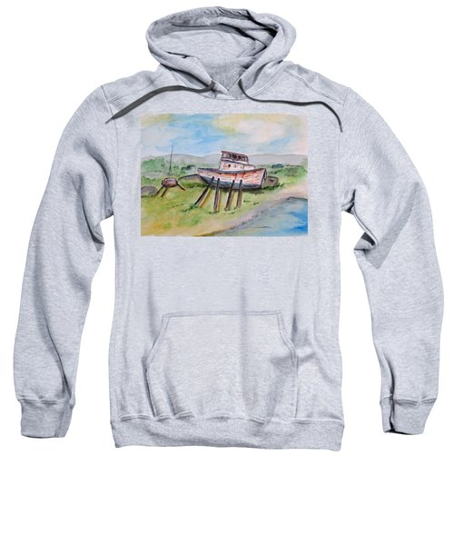 Abandoned Fishing Boat Sweatshirt