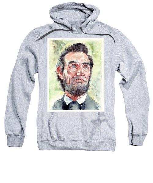 Abraham Lincoln Portrait Sweatshirt