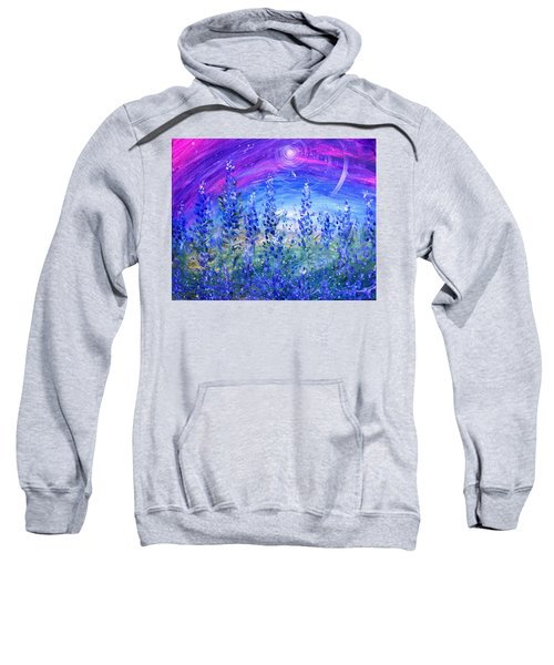 Abstract Bluebonnets Sweatshirt