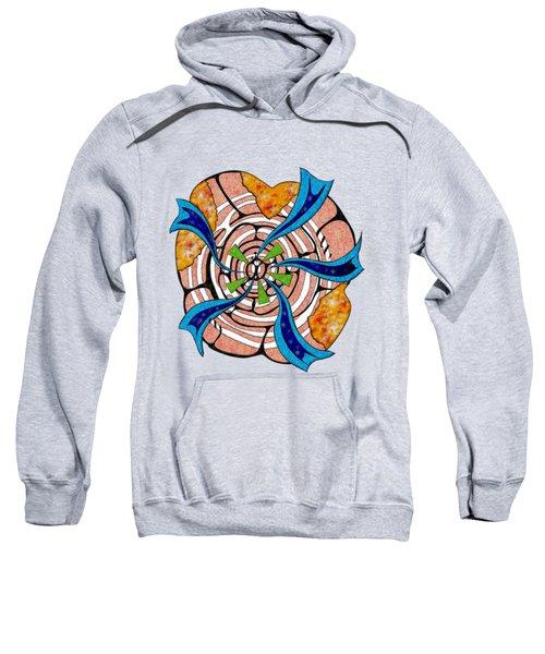 Abstract Digital Art - Ciretta V3 Sweatshirt by Cersatti