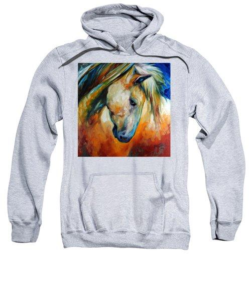 Abstract Equine Eccense Sweatshirt