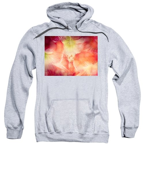Abstract Flower Art Sweatshirt