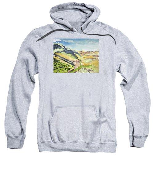 Abstract Hillside Sweatshirt