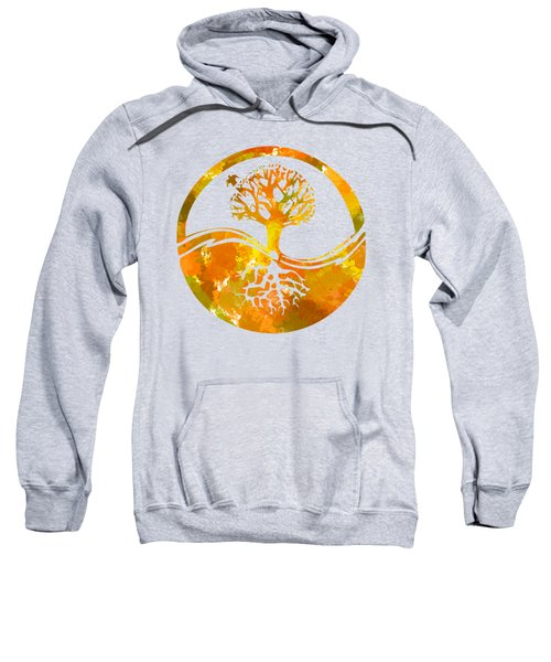 Sweatshirt featuring the photograph Abstract I by Christina Rollo