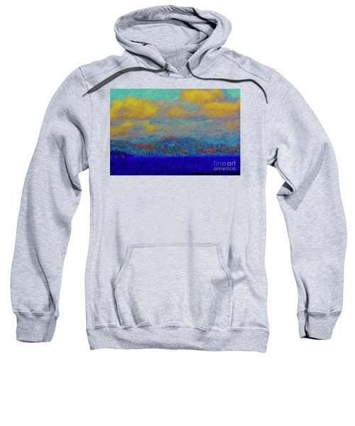 Abstract Landscape Expressions Sweatshirt