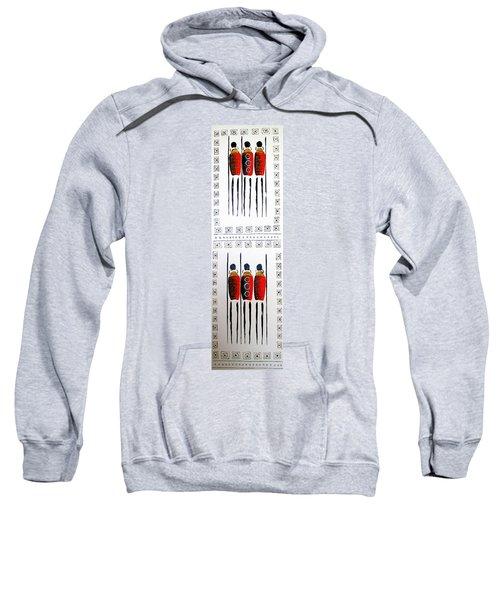 Abstract Masai Warriors Sweatshirt