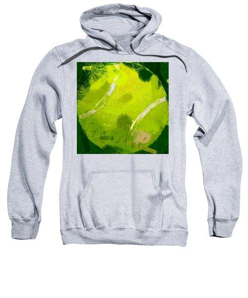 Abstract Tennis Ball Sweatshirt