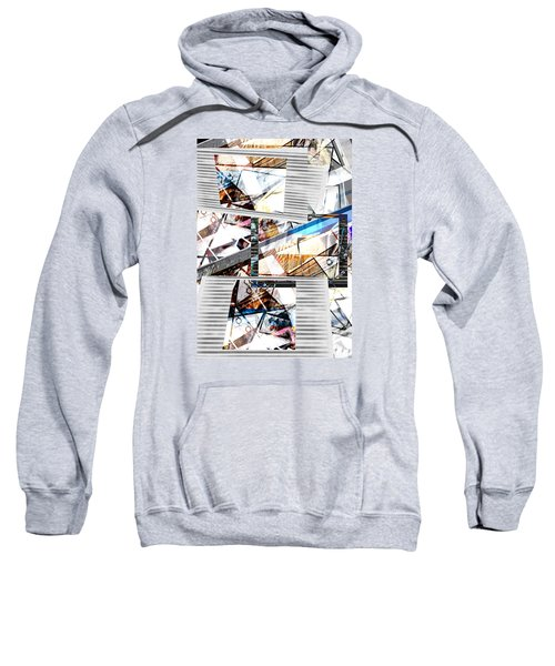 Abstract Triptych Sweatshirt