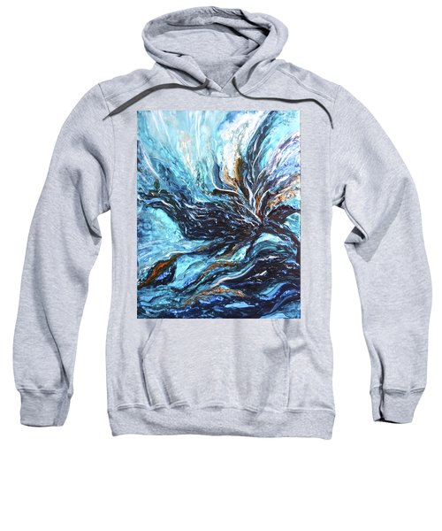 Abstract Water Dragon Sweatshirt
