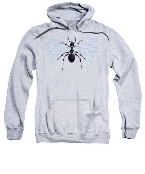 Abstract Winged Ant Sweatshirt by Boriana Giormova
