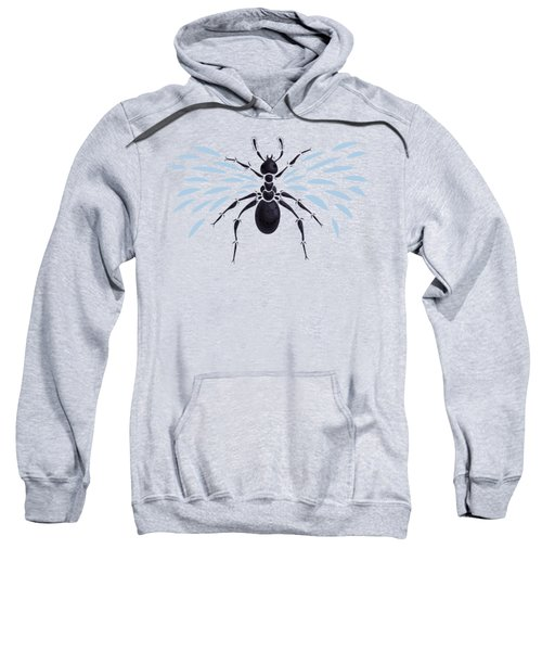 Abstract Winged Ant Sweatshirt