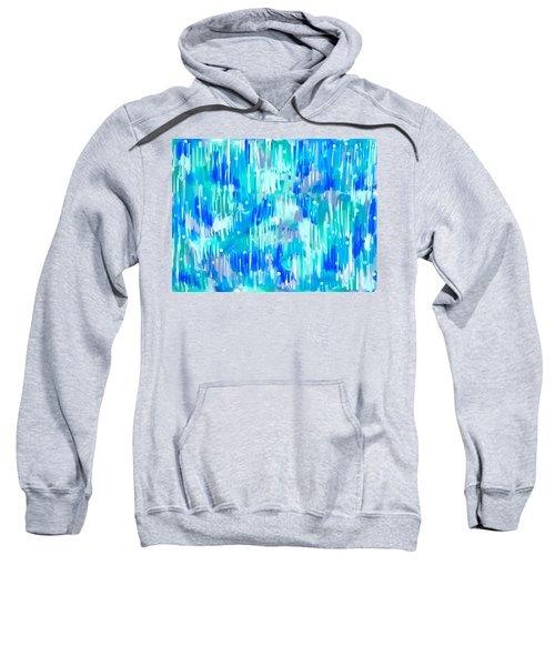 Abstract Winter Sweatshirt