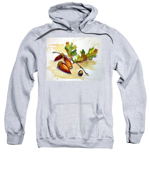 Acorns And Leaves Sweatshirt