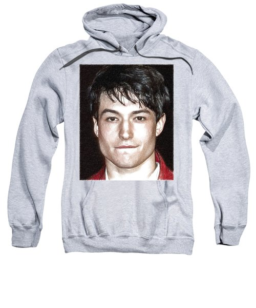 Actor And Musician Ezra Miller Sweatshirt by Best Actors