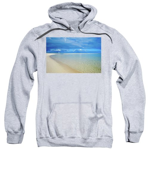 Adagio Alone In Ouvea, South Pacific Sweatshirt