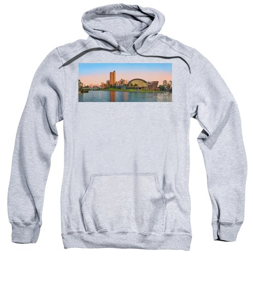 Adelaide Riverbank Panorama Sweatshirt