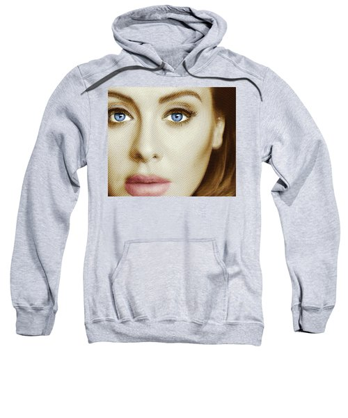 Adele Painting Circle Pattern 1 Sweatshirt by Tony Rubino