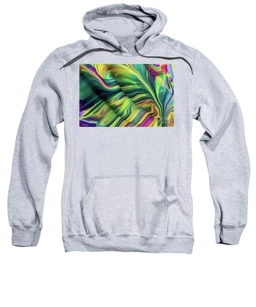 Aegean Wave Sweatshirt