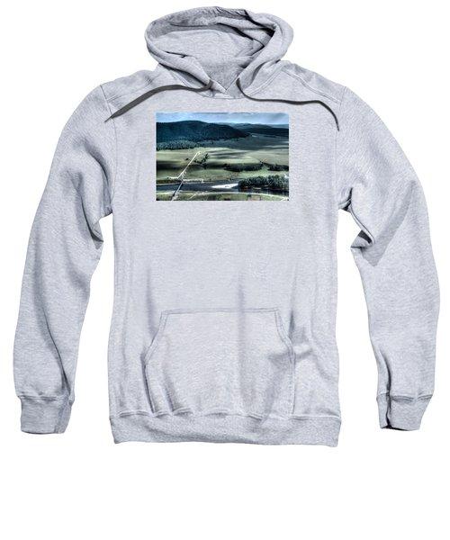 Aerial View Of Rolling Russian Hills Sweatshirt