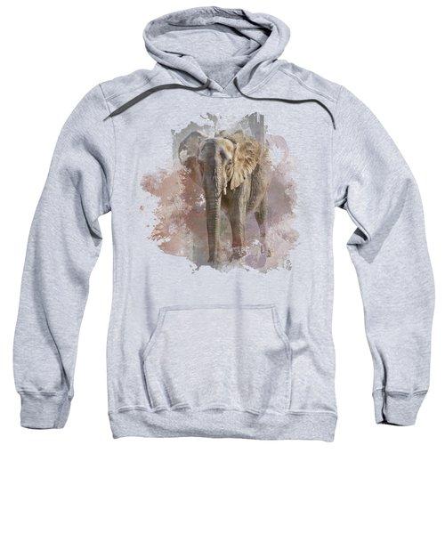 African Elephant - Transparent Sweatshirt
