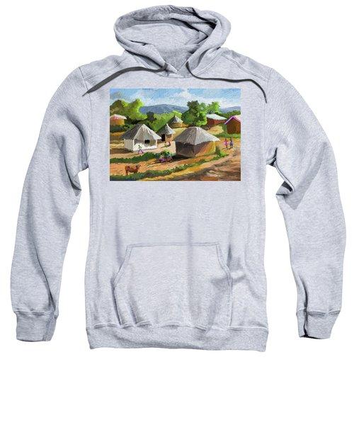 African Rural Life Sweatshirt