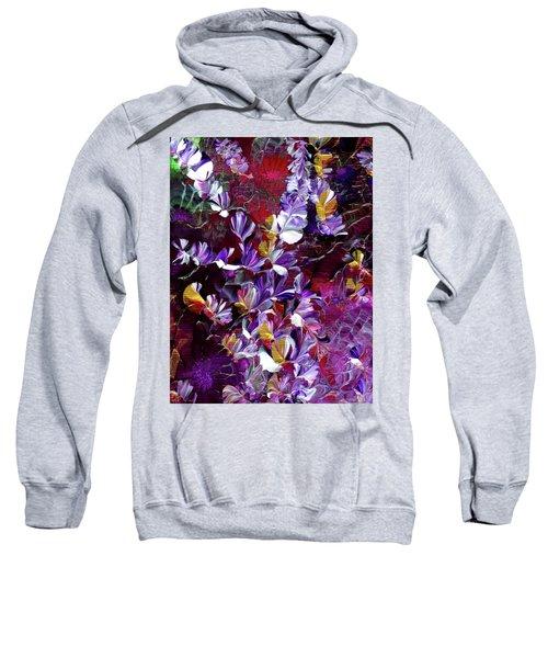 African Violet Awake #4 Sweatshirt