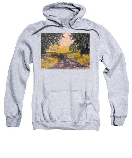 After Rain On The Wolds Way Sweatshirt