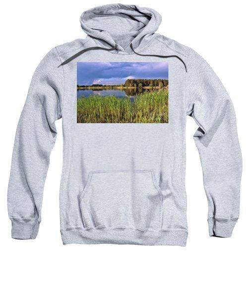 After The Rain Poetry Sweatshirt