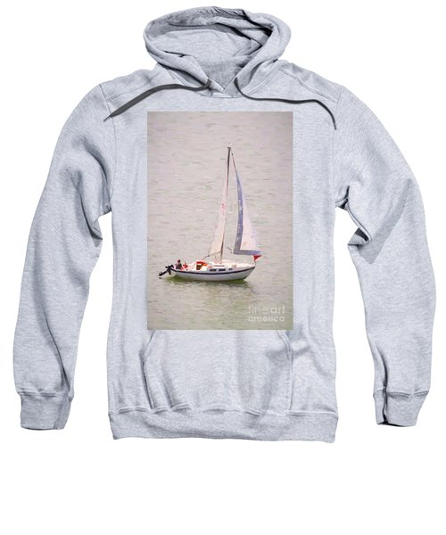 Sweatshirt featuring the photograph Afternoon Sail by James BO Insogna