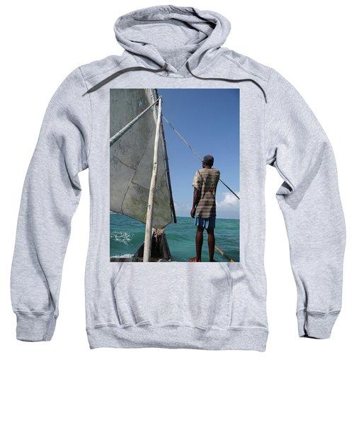 Afternoon Sailing In Africa Sweatshirt by Exploramum Exploramum