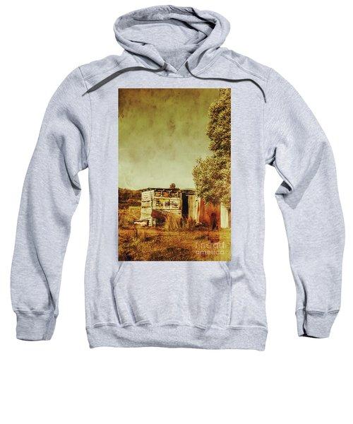 Aged Australia Countryside Scene Sweatshirt