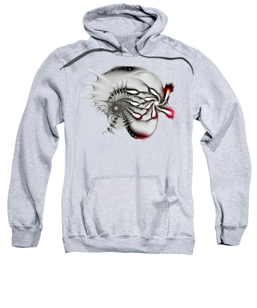 Aggressive Grey Sweatshirt