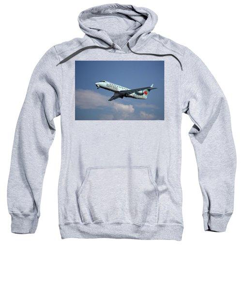 Air Canada Express Bombardier Crj-200er Sweatshirt