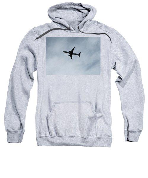 Airplane Silhouette Sweatshirt