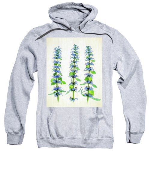 Ajuga Blooms Sweatshirt