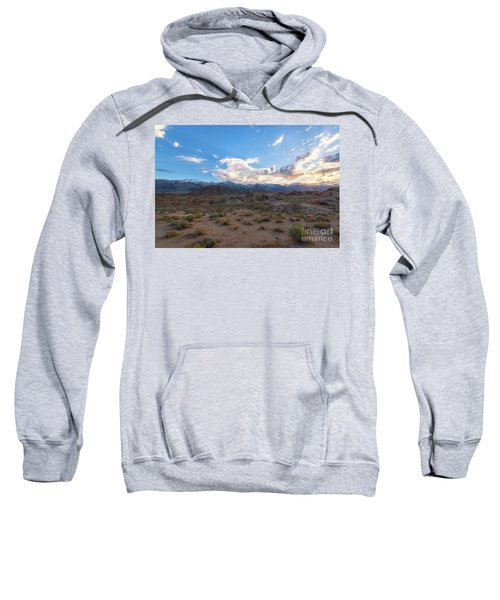 Alabama Hills Sunset  Sweatshirt