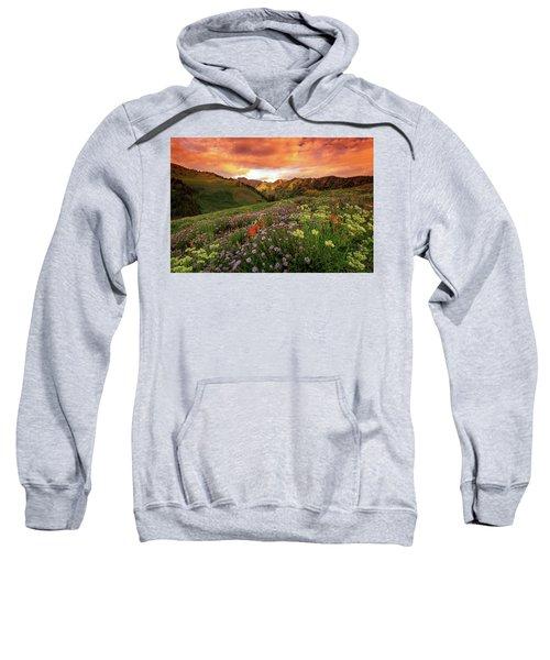 Albion Basin Golden Sunrise Sweatshirt