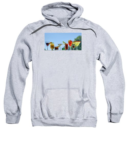 Alcoholic Beverages - Outdoor Bar Sweatshirt