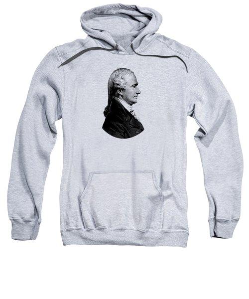 Alexander Hamilton Graphic Portrait  Sweatshirt