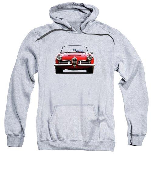 Alfa Romeo Spider Sweatshirt by Mark Rogan