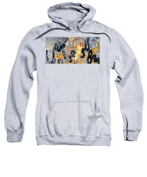 Alfabeto Giallo Nero Sweatshirt