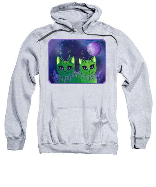 Alien Cats Sweatshirt